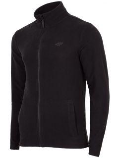 Pánský fleece PLM304 - hluboký černý