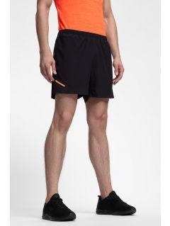 Pánské tréninkové šortky SKMF253 - hluboce černé