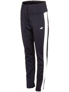 Dámské lyžařské kalhoty SPDN101 - hluboce černé