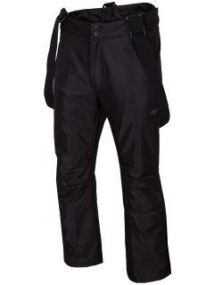 Pánské lyžařské kalhoty SPMN350 - hluboce černé