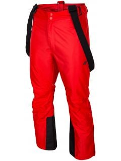 Pánské lyžařské kalhoty SPMN350 – červené