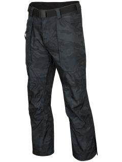 Pánské lyžařské kalhoty SPMN552R - multibarevný allover