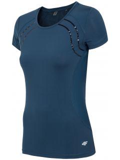 Dámské tréninkové tričko TSDF208 – tmavě modré