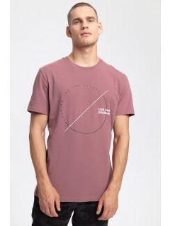 Pánské tričko TSM269 – burgundské