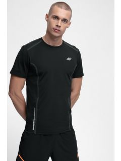Pánské běžecké tričko TSMF216 - hluboce černé