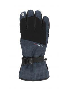 Pánské lyžařské rukavice REM002 - tmavě modré