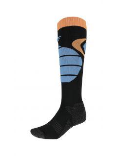 Pánské lyžařské ponožky SOMN002 – černé
