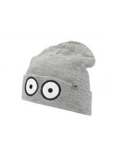 Čepice pro starší děti (kluky) JCAM205 - šedá