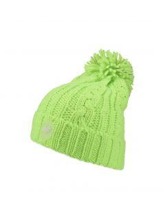 Čepice pro starší kluky JCAM224 - neonově zelená