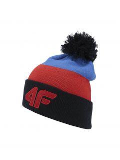 Čepice pro starší děti (kluky) JCAM257 - červená