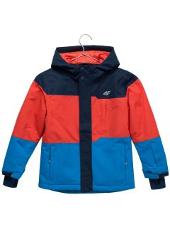 Lyžařská bunda pro mladší děti (kluky) JKUMN304 – tmavě modrá