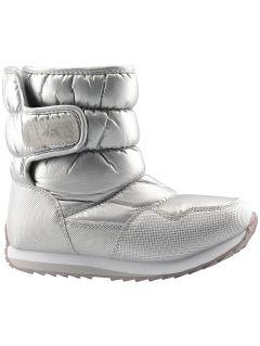 Zimní boty pro starší děti (holky) JOBDW205 – stříbrné