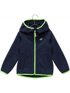 Fleece pro mladší děti (kluky) JPLM101 - tmavě modrý