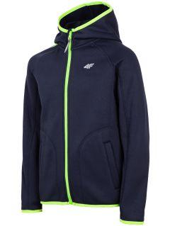 Fleece pro starší děti (kluky) JPLM201 - tmavě modrý