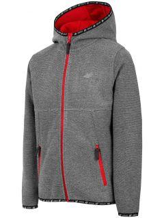 Fleece pro mladší děti (kluky) JPLM300 - šedý