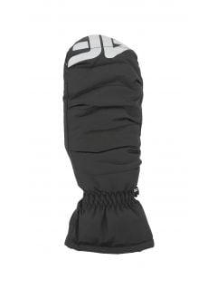 Lyžařské rukavice pro mladší děti (holky) JRED401 - černé