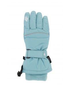 Lyžařské rukavice pro starší děti (holky) JRED402 – mátové