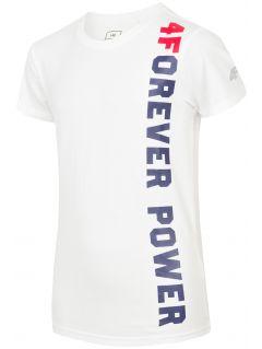 Tričko pro starší děti (kluky) - bílé
