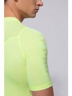 Pánské tričko baselayer 4FPro TSMF400 - neonově žluté