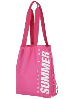 plážová taška  TPL204 - růžový neon