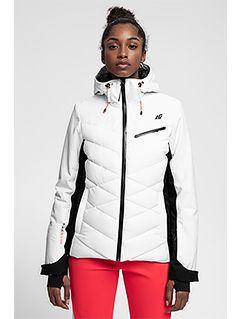 Dámská lyžařská bunda KUDN256 – bílá