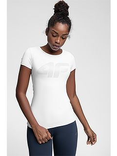 Dámské tréninkové tričko TSDF107 – bílé