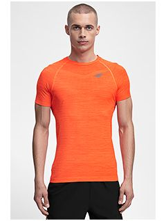 Pánské tréninkové tričko TSMF258 - oranžový melír