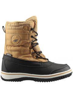 Podzimní boty pro starší děti (kluky) JOBM207 – žluté
