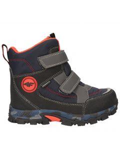 Zimní boty pro starší děti (kluky) JOBMW405 - mořské zelené