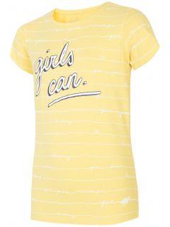 Tričko pro starší děti (holky) JTSD202A – žluté