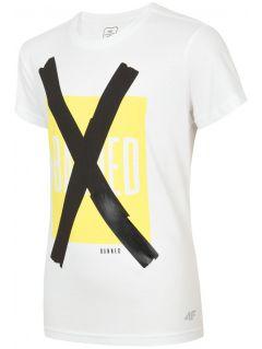 Tričko pro starší děti (kluky) JTSM206 - bílé
