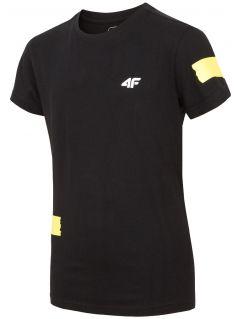 Tričko pro starší děti (kluky) JTSM210 - černé