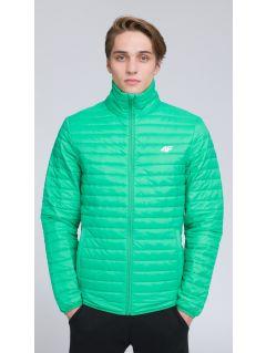 Pánská péřová bunda KUMP203 - zelená