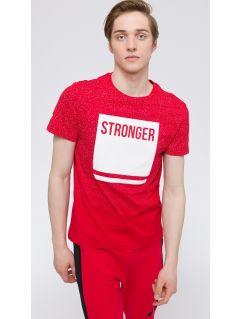 T-shirt męski TSM217 - czerwony
