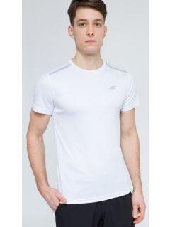Pánské tréninkové tričko tsmf205 - bílá