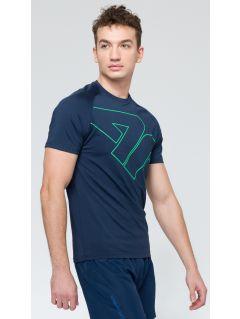 Pánské tréninkové tričko TSMF222 - tmavě modrá