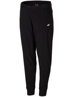 Dámské tréninkové kalhoty SPDF304 - hluboké černé