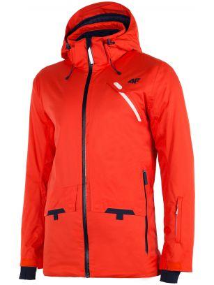 Pánská lyžařská bunda KUMN255 – oranžová