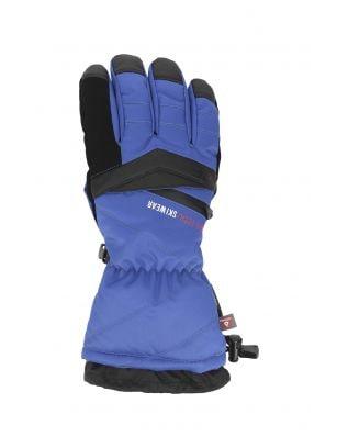 Pánské lyžařské rukavice REM150 – kobaltové