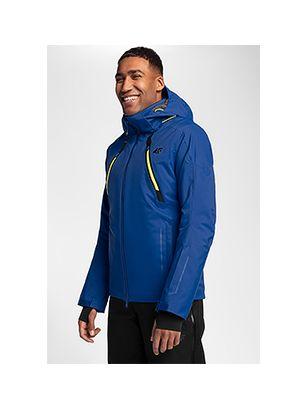 Pánská lyžařská bunda KUMN153 – kobaltová
