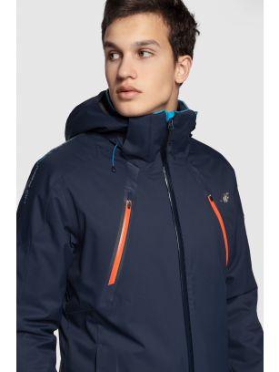 Pánská lyžařská bunda KUMN153A – tmavě modrá