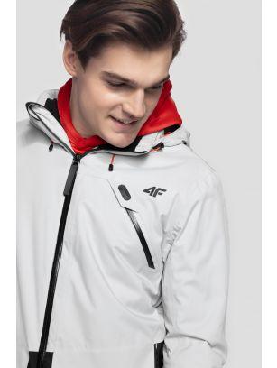 Pánská lyžařská bunda KUMN255 – šedá