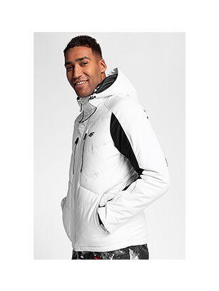 Pánská lyžařská bunda KUMN256 – bílá
