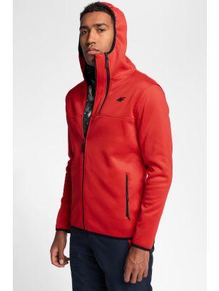 Pánský fleece PLM251 – červený