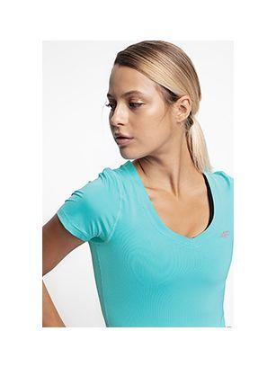 Dámské tréninkové tričko TSDF300 – mátová